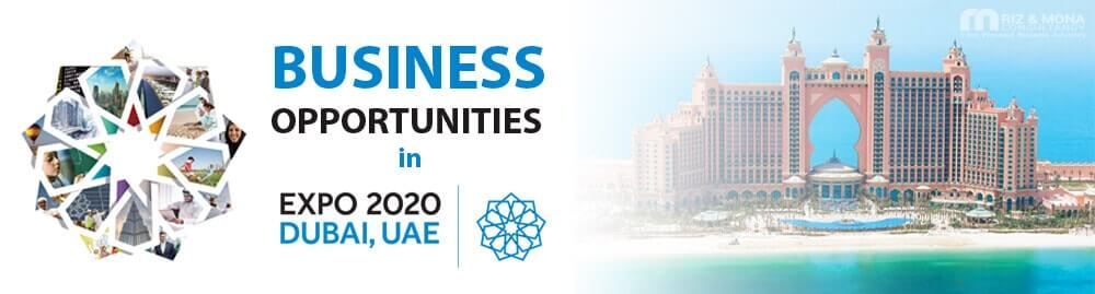 Business opportunities in expo 2020