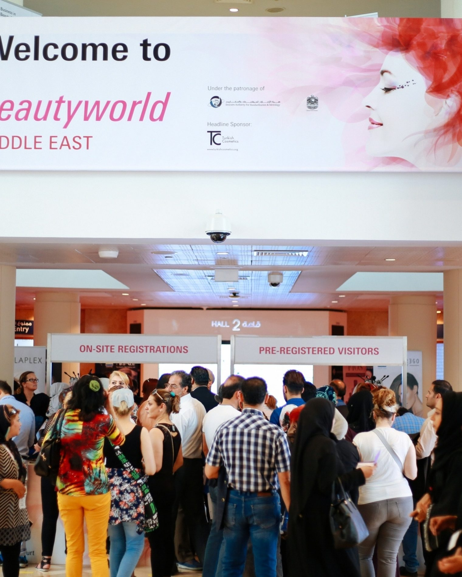Beauty World Exhibition 2017 in Dubai