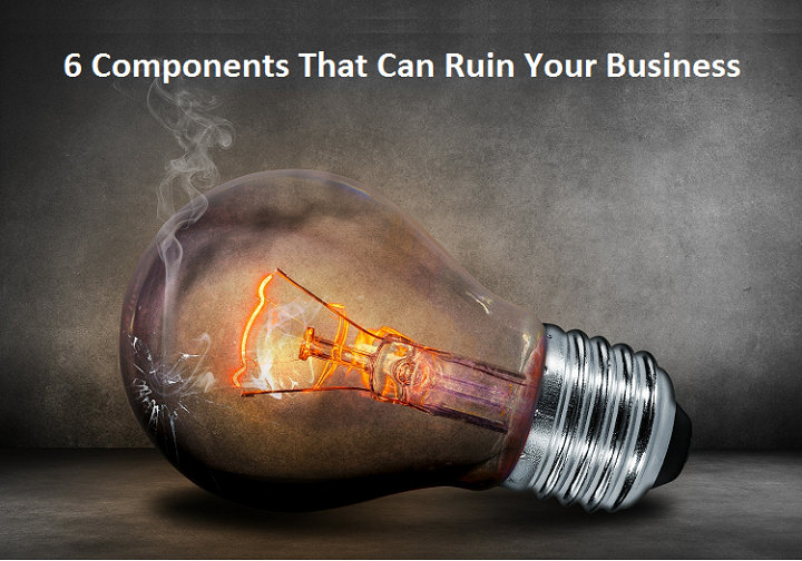Component can ruin your business