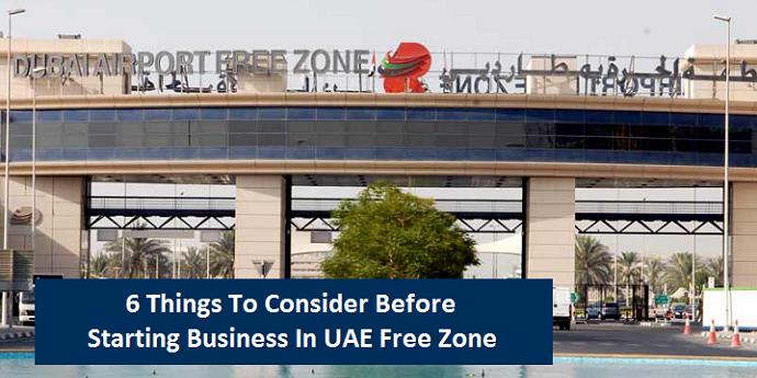 Before Starting Business UAE Freezone