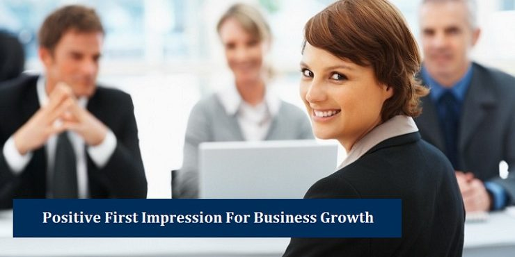 Positive First Impression Business Growth