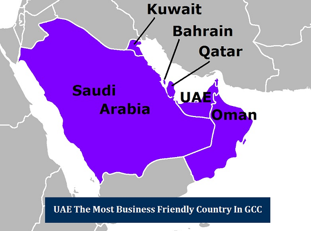 UAE Business Friendly Country GCC