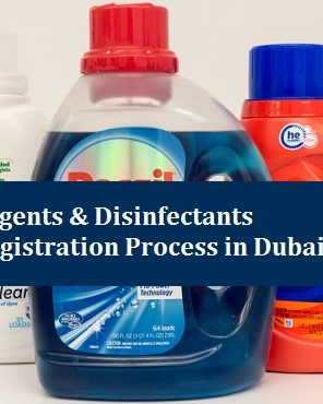 Detergents & Disinfectants Registration in Dubai