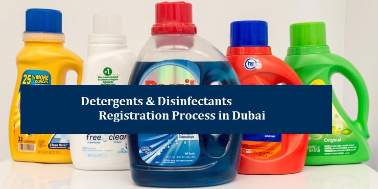 Detergents & Disinfectants Registration in Dubai