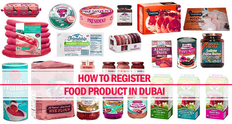 How register food product