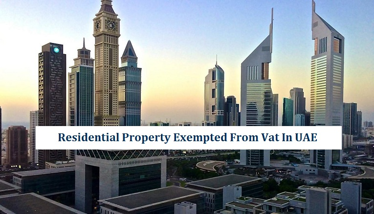 Residential Property Exempted From Vat