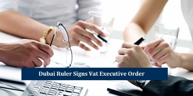Signs Vat Executive Order