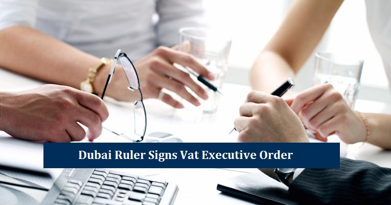 Signs Vat Executive Order