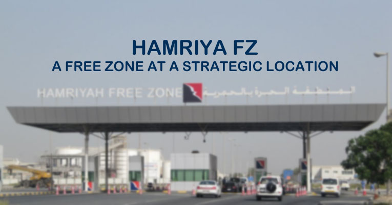 Hamriya FZ Free Zone Strategic Location