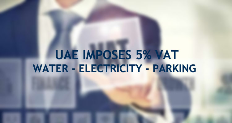 UAE VAT water electricity