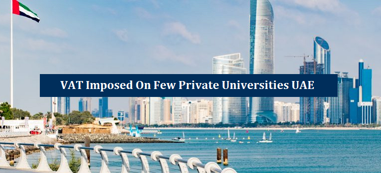 VAT Imposed Few Private Universities