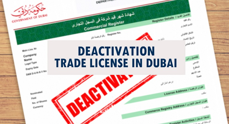 Deactivation Trade License In Dubai