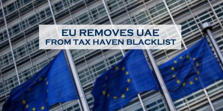 EU Removes UAE From Tax Blacklist
