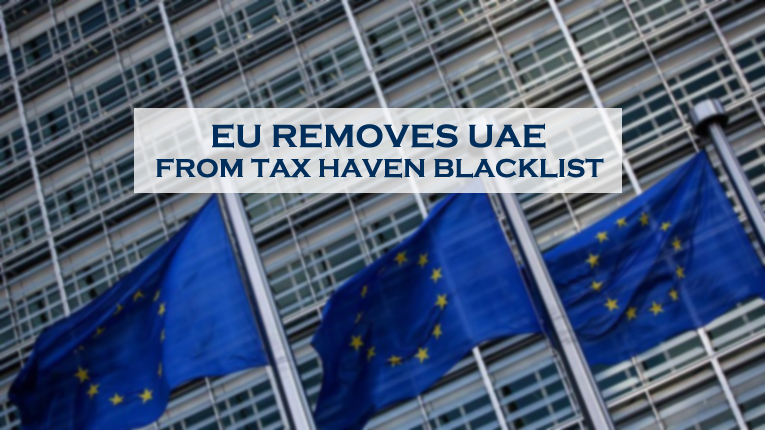 EU Removes UAE From Tax Blacklist