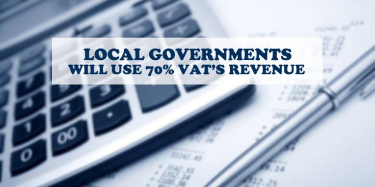 Local governments VAT revenue
