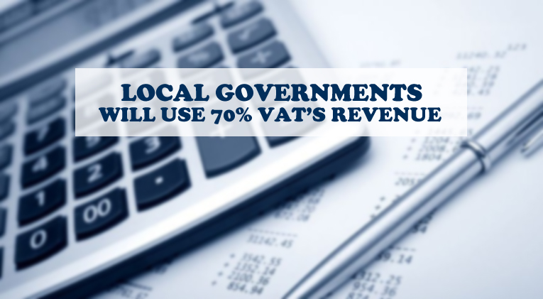 Local governments VAT revenue