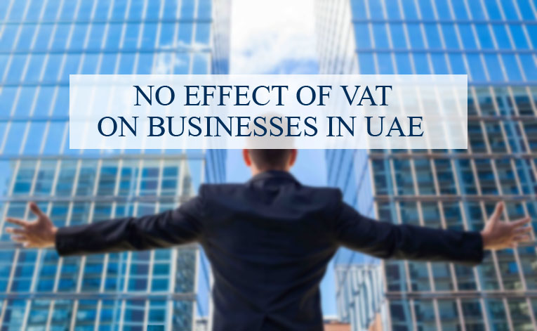 No effect VAT on businesses