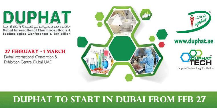 Duphat Start In Dubai From Feb 27