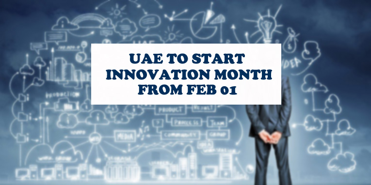 UAE To Start Innovation Month From Feb 01