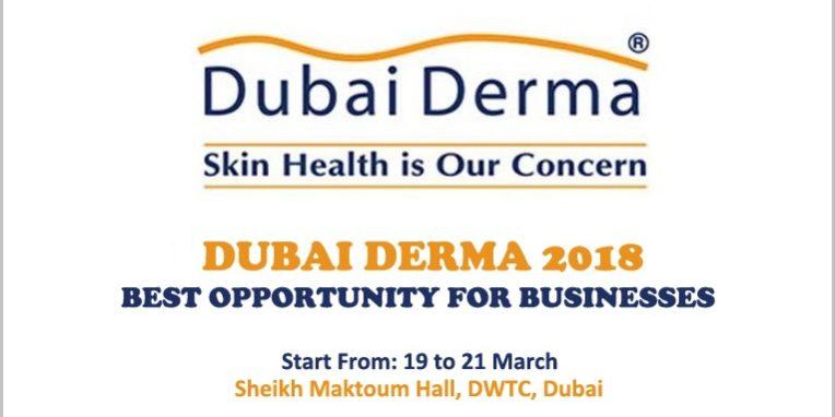 Dubai DERMA 2018 – Best Opportunity For Businesses
