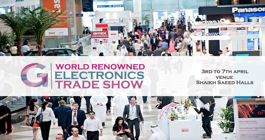 GITEX – World Renowned Electronics Trade Show