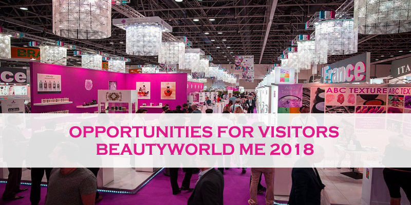 Opportunities For Visitors In Beautyworld Me 2018