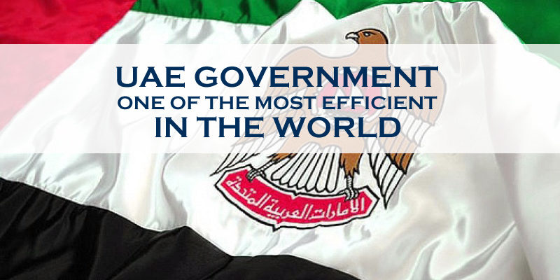 UAE Government – One Of The Most Efficient In The World