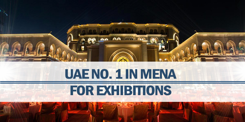 UAE No. 1 In MENA For Exhibitions