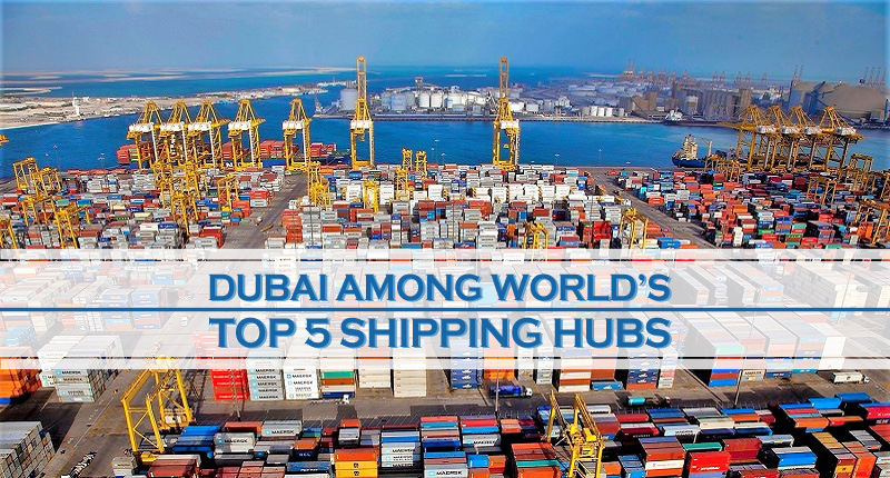 Dubai Among World's Top Shipping Hubs