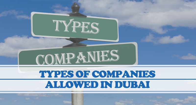 Types Of Companies Allowed In Dubai