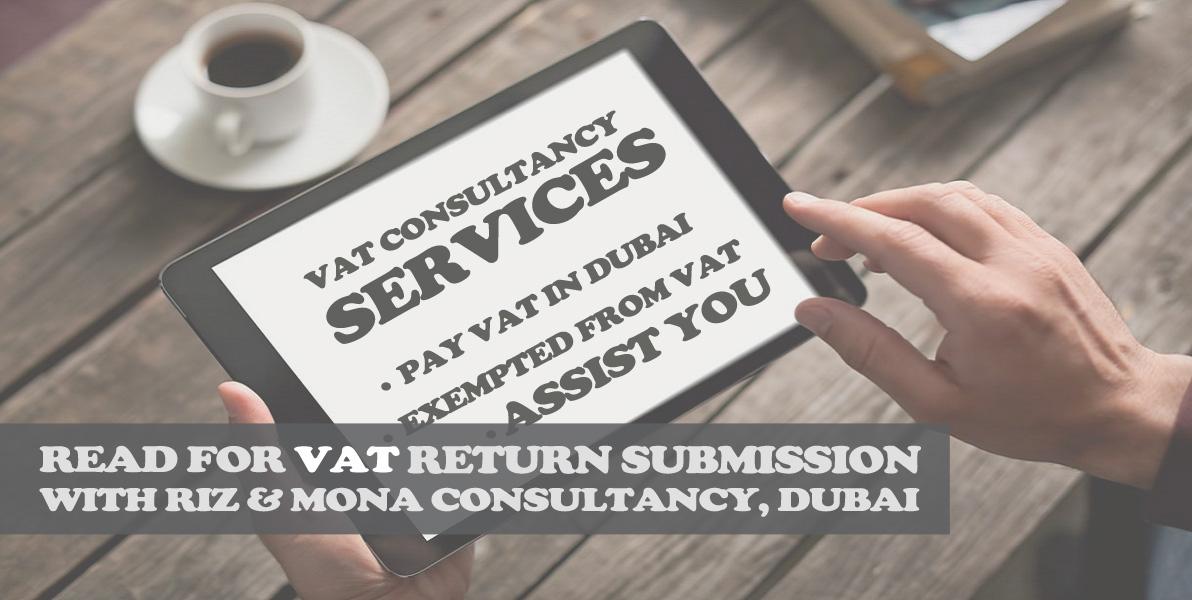 VAT Consultancy Service In Dubai