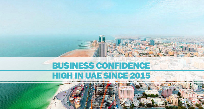 Business confidence high since 2015