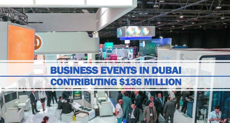 Dubai Business Events add $136 Million