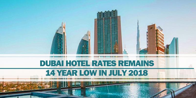 Dubai hotel rates remains low