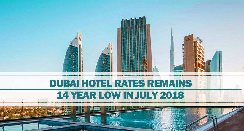 Dubai hotel rates remains low