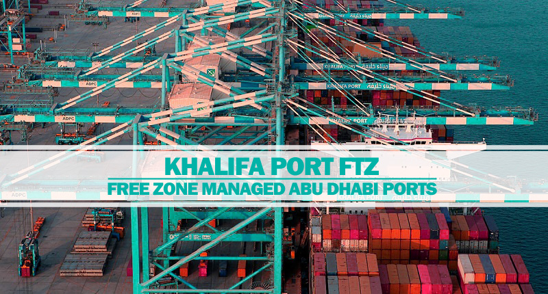 Khalifa Port managed by Abu Dhabi