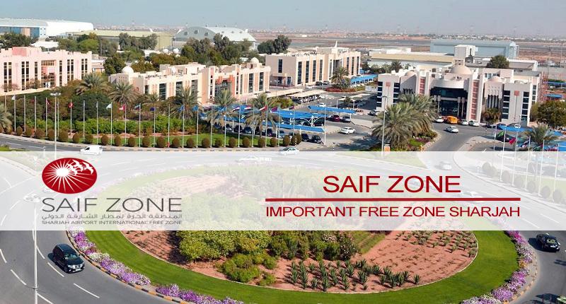 SAIF zone free zone Sharjah