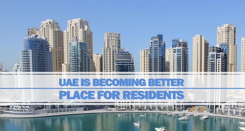 UAE Is Becoming Better Place For Residents