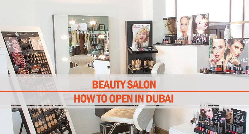 Open beauty salon Dubai