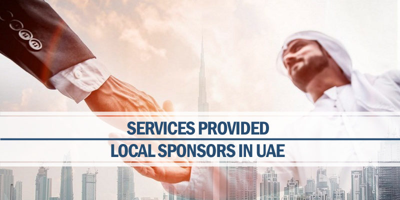 Services provided local sponsors UAE