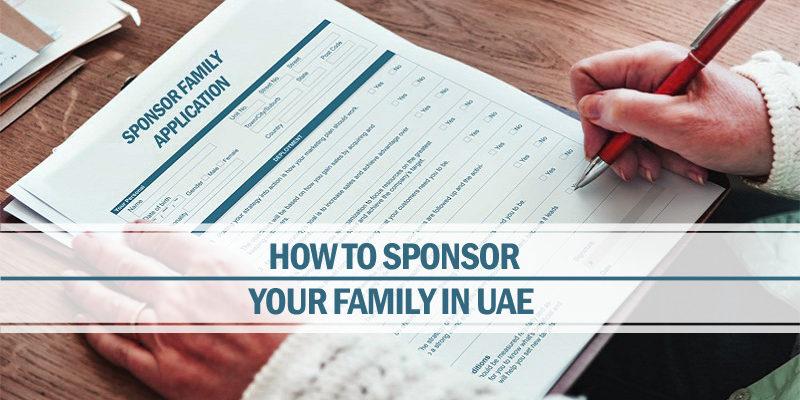 Sponsor your family in UAE