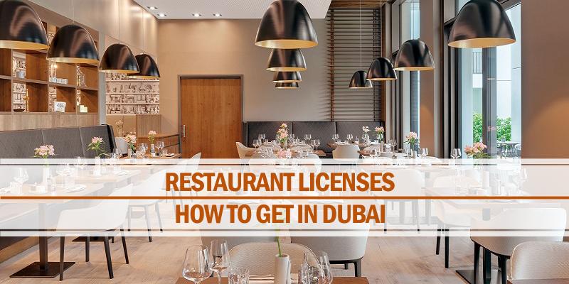 Different restaurant licenses Dubai