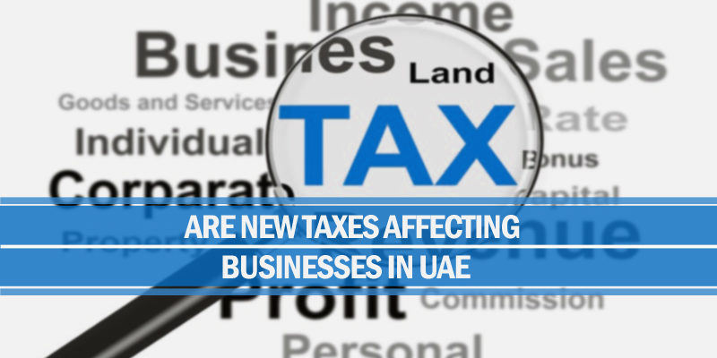 Taxes affecting businesses uae