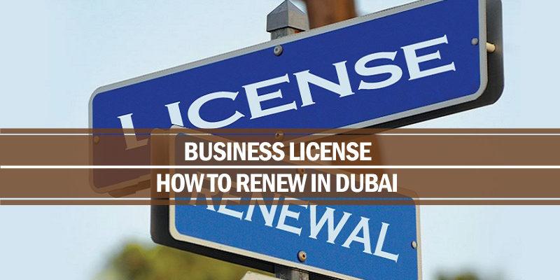 Renew business license Dubai