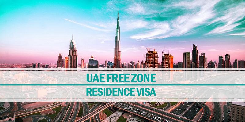 UAE free zone residence visa