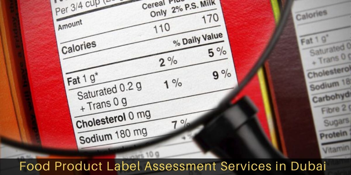 Food product label assessment