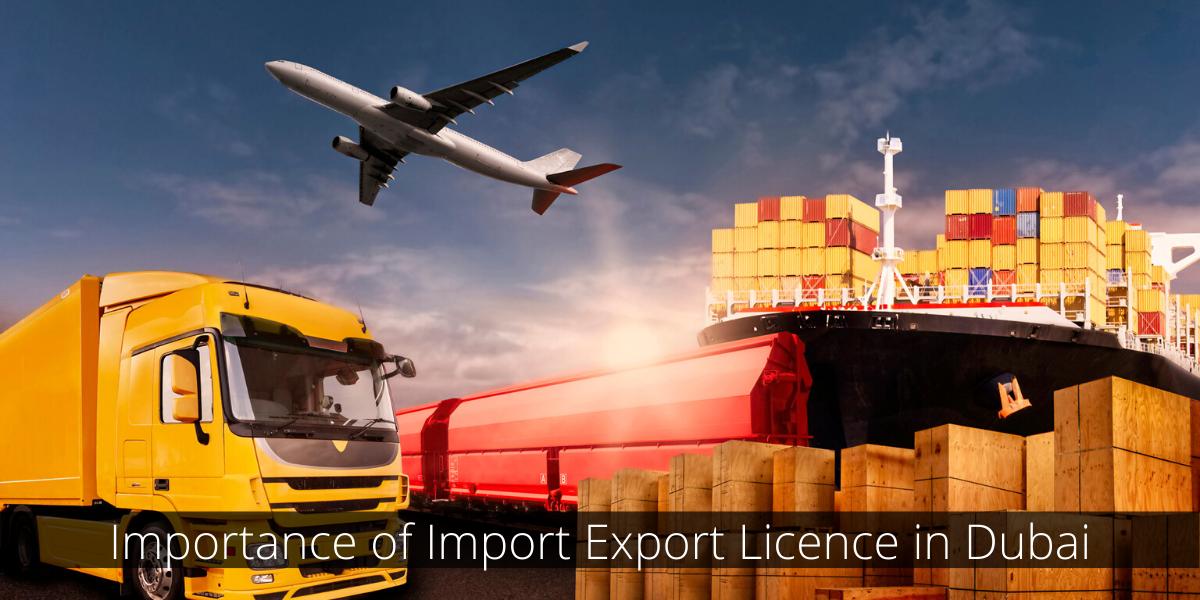Import Export Licence dubai