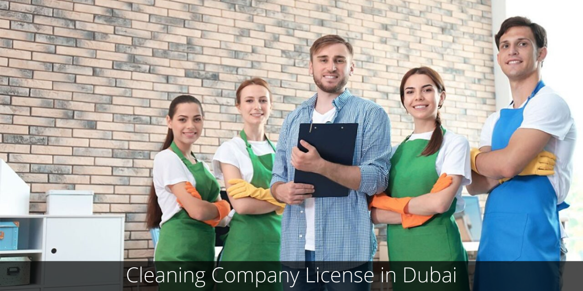 Cleaning Company License