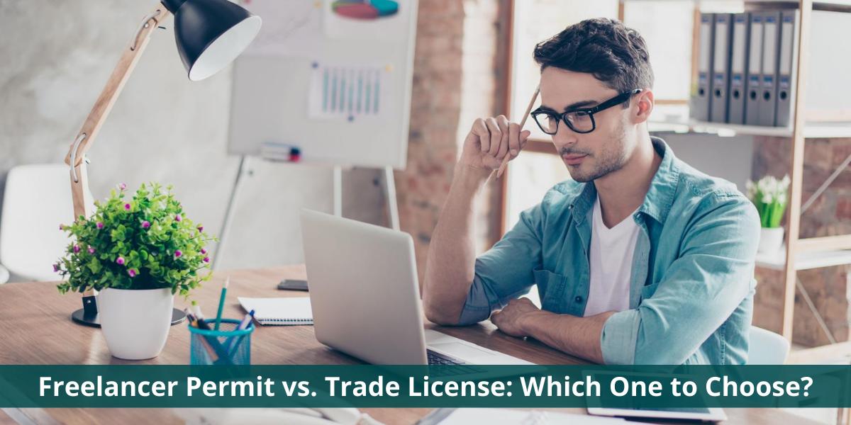 freelance vs trade license