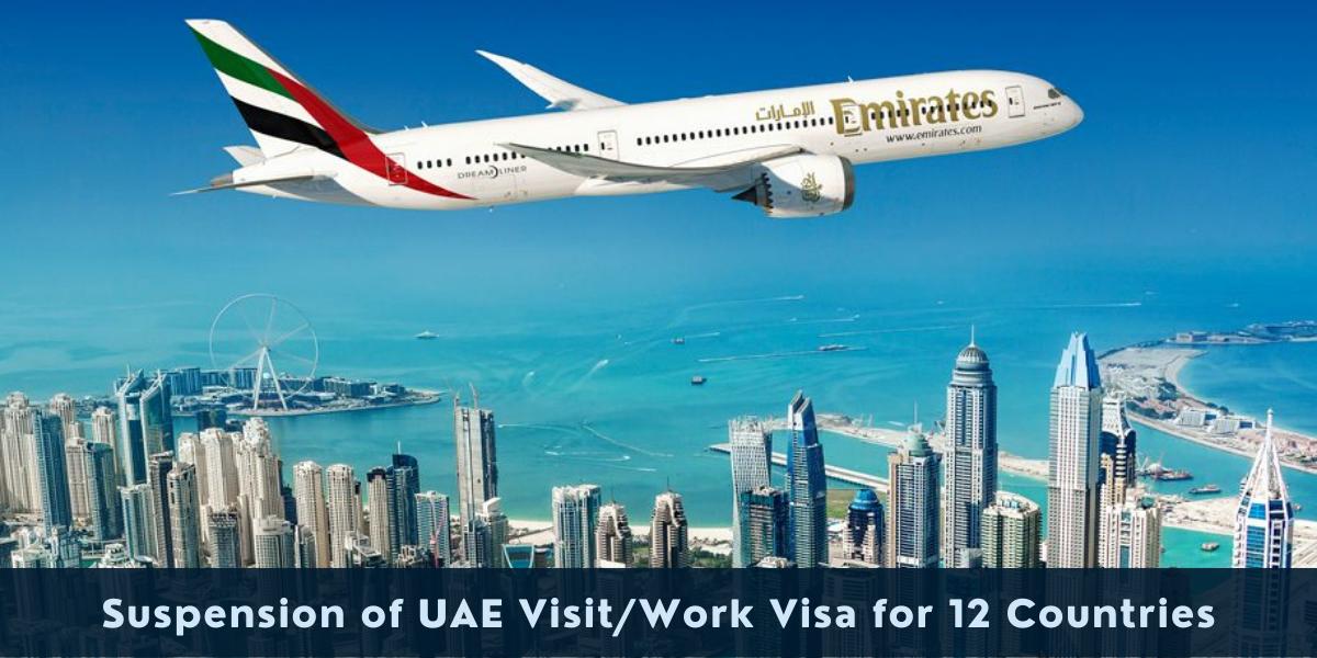 UAE Visa Suspension